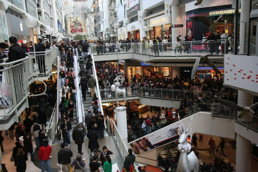Holiday shoppers on the warpath